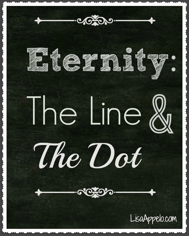 eternity line and dot