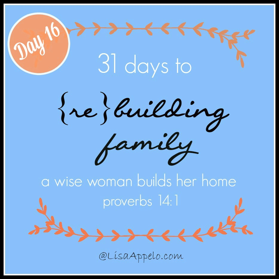 31 Days button day 16
