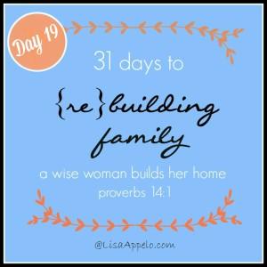 31 Days button day 19