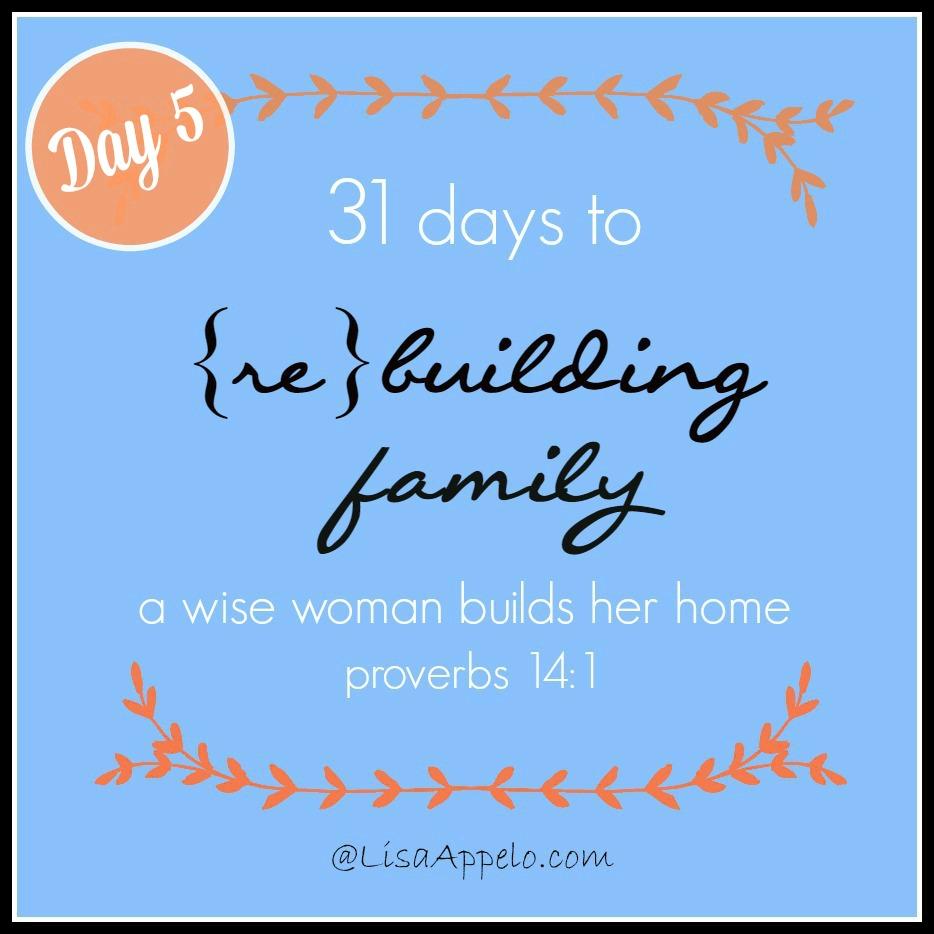31 Days button day 5