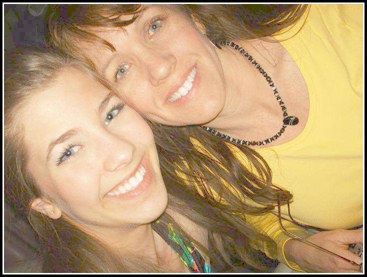 rachel and mom