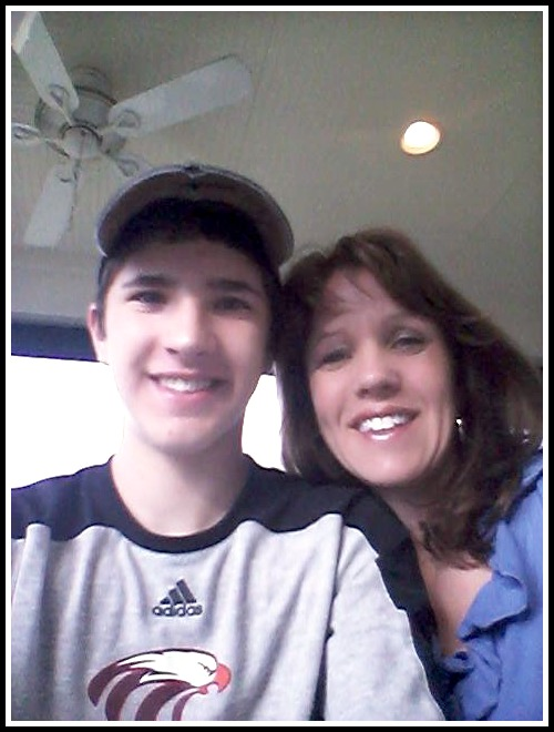zach and mom