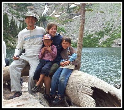 Lee family in Rocky Mnts