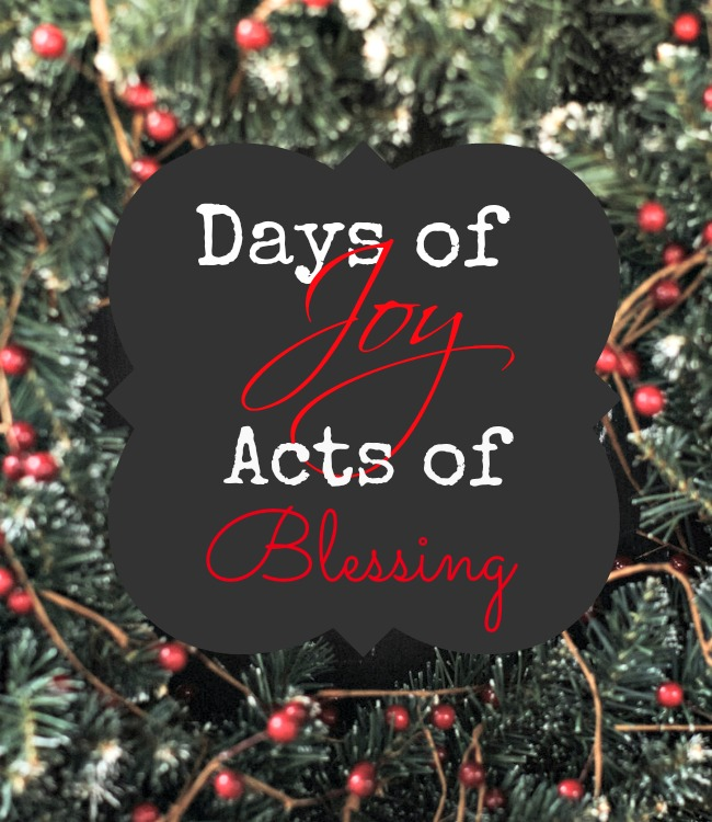 Days of Joy blog