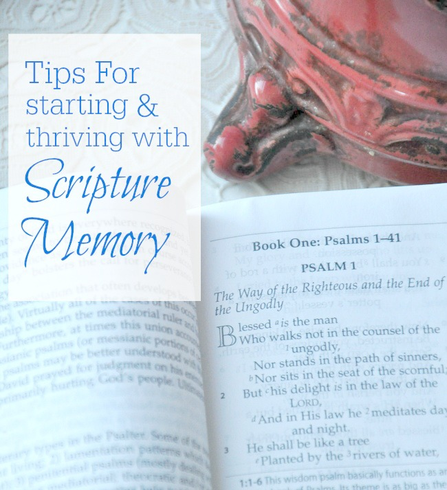 how to memorize scripture blog