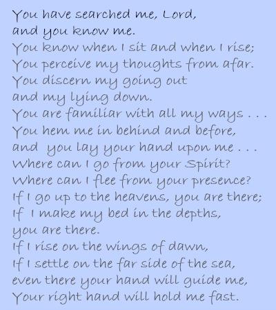 psalm 139 verse