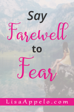 This practical 3-step process based in scripture will help you overcome fear. #christian #bibleverses #fear #anxiety