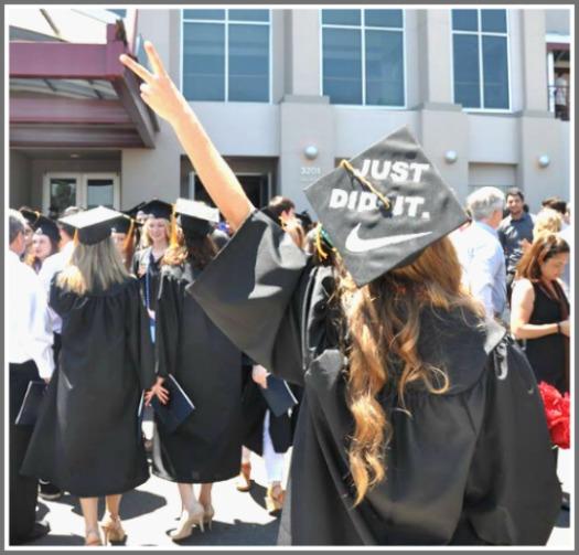 graduation just did it