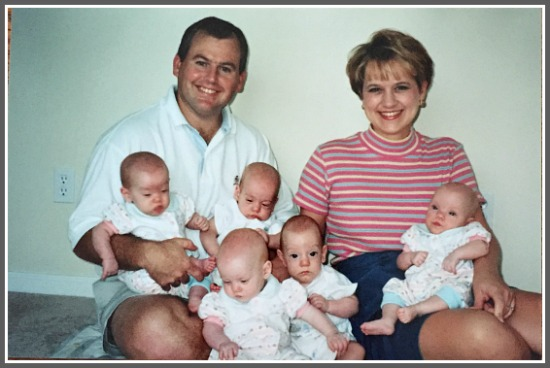A marriage strengthened by trials prepared Denise and John for quintuplets.
