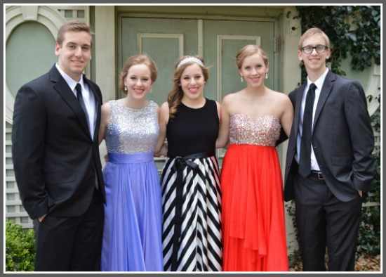 The tight bond remains as all five prepare to graduate high school.