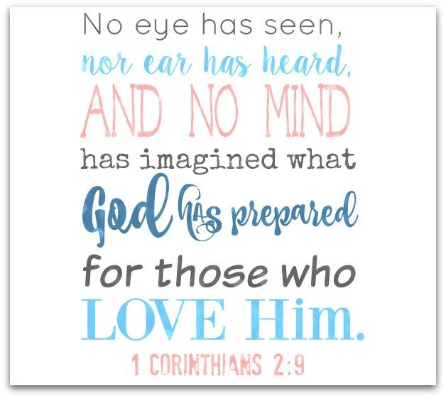 1 Corinthians 2.9.