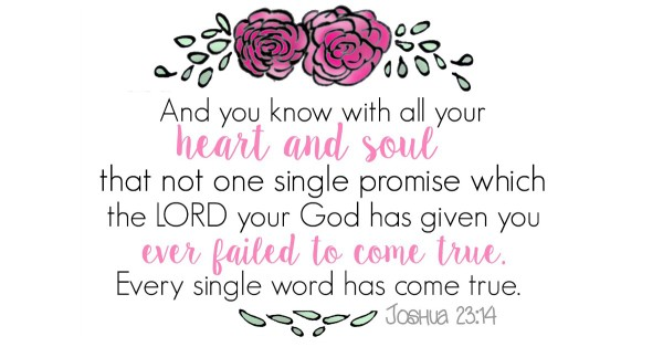 joshua 23.14 printable fb
