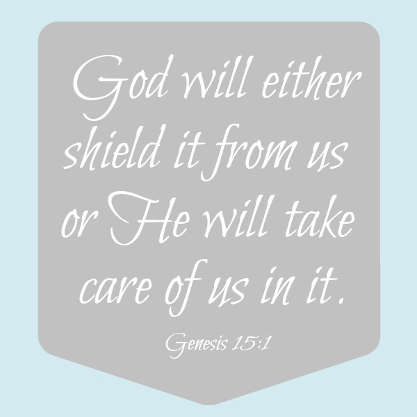 God is our shield