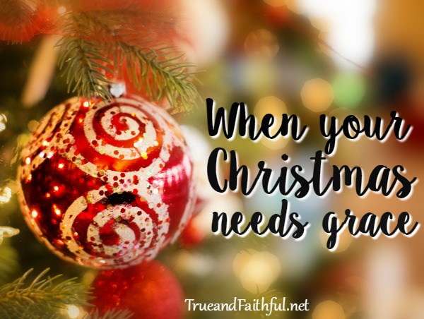 When life doesn't look like it used to, give yourself the huge gift of grace. Read more here.