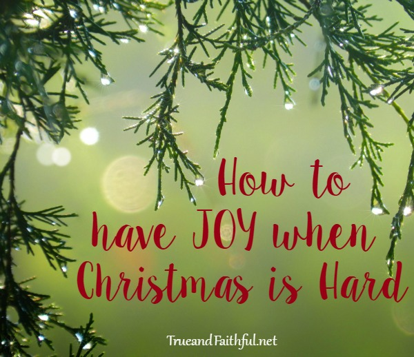 here is the one thing we did to bring joy when christmas was hard - When Was Christmas