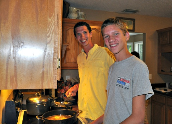 ben and seth cooking