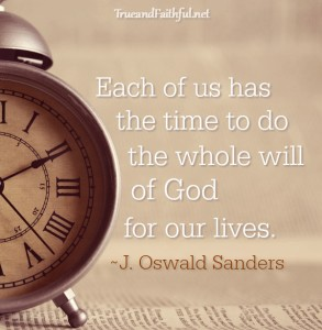 4 Ways God's Sovereignty Over my Time Frees Me