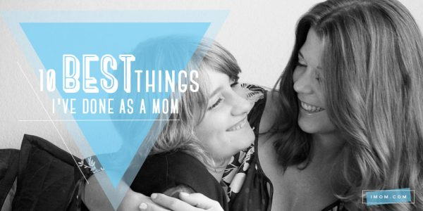 When negative self-talk sets in, let's celebrate how God made us as moms and the things we're doing well!