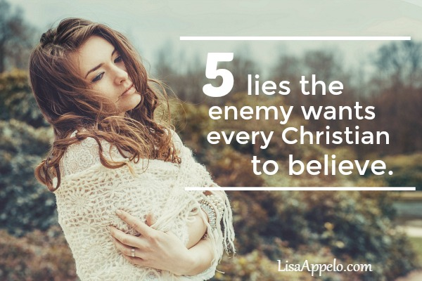 Satan may be crafty but he's not creative. We need to watch for these age-old 5 lies he uses against every Christian.