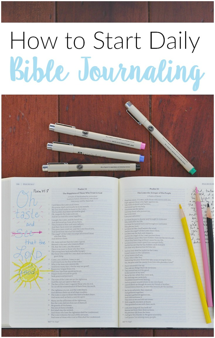 How to Start Daily Bible Journaling