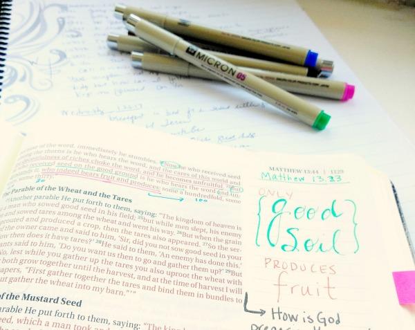 Bible journaling | Bible study
