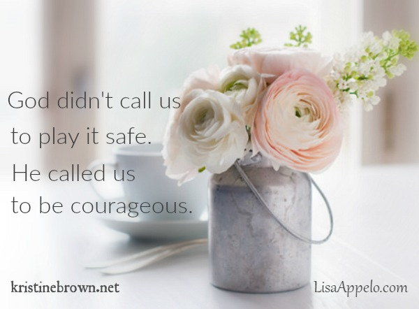 God doesn't call us to play it safe