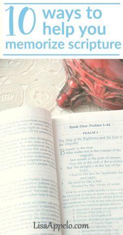 ways to memorize scripture | scripture memory | kids memorize scripture | family