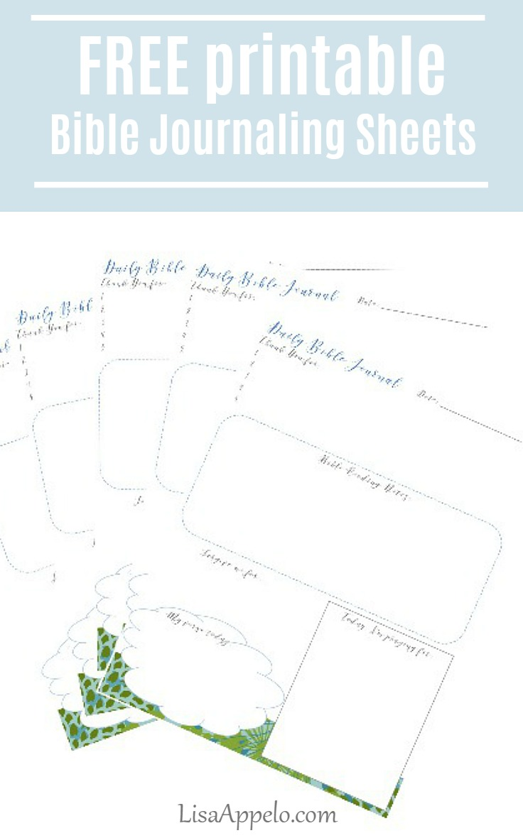 FREE Bible journaling page | Bible journaling | Bible study | Bible study notebook page