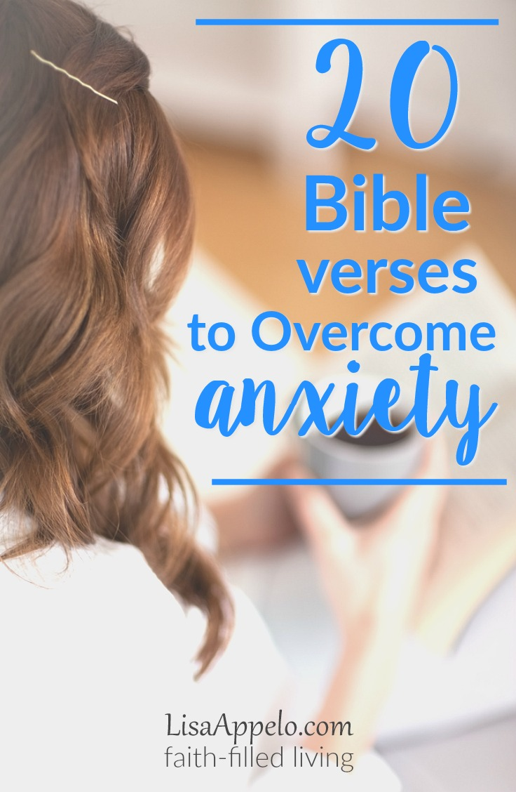Bible verses overcome anxiety | scripture to fight fear