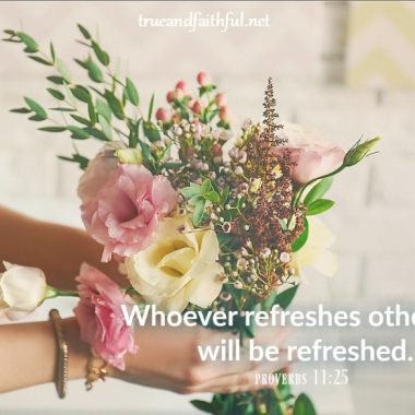 encouragement | encourage others | whoever refreshes others will be refreshed | #encouragementdare