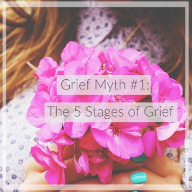 Grief myth: 5 stages of grief | Christian grief | widow