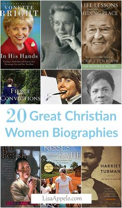 20 Great Christian Women | Christian women biographies | Women's history Christian | missionary biographies