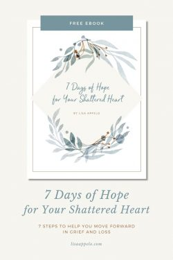 7 Days of Hope for Your Shattered Heart -- How the Christian Can Grieve with Hope