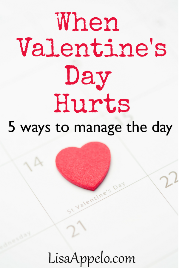 When Valentine\'s Day hurts, these 5 steps can help manage the day. #Valentines #day #hurt #grief