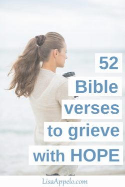 52 Bible verses to grieve with hope