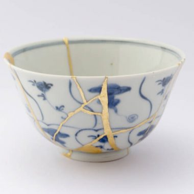 Broken but beautiful in grief the japanese art of kintsugi